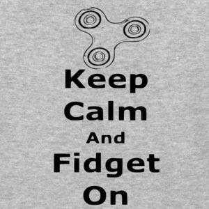 Keep Calm Fidget on - Baseball T-Shirt