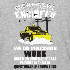 Snow Removal Engineer T Shirt - Baseball T-Shirt