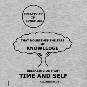 CREATIVITY SUNSHINE TREE OF KNOWLEDGE TIME AND SEL - Baseball T-Shirt