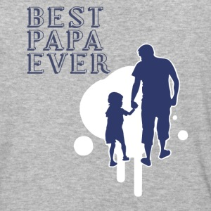 Best Papa Ever T Shirt - Baseball T-Shirt