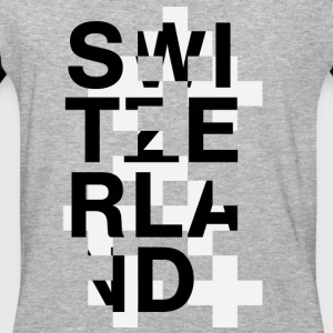 Switzerland Swiss Style - Baseball T-Shirt