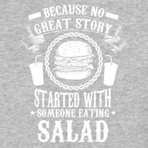 Burger - No salad - Baseball T-Shirt