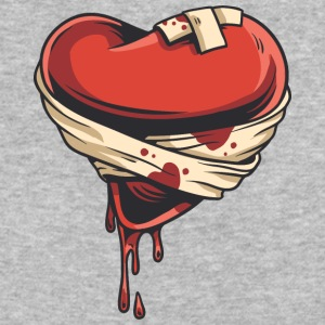 wounded_heart - Baseball T-Shirt