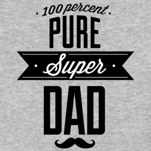 Pure_super_dad_black - Baseball T-Shirt