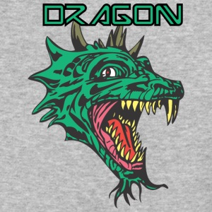 dragon_with_beard_color - Baseball T-Shirt