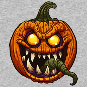 pumpkin_plant_monster - Baseball T-Shirt