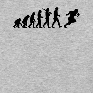 Evolution of a Rugby Player - Baseball T-Shirt