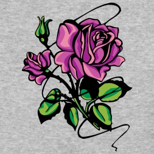 purple_roses - Baseball T-Shirt