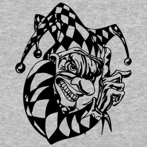 EVIL_CLOWN_2_BLACK - Baseball T-Shirt