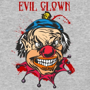 EVIL_CLOWN_ - Baseball T-Shirt