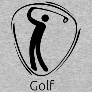 Golf_black - Baseball T-Shirt
