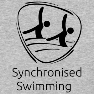 Synchronised_swimming_black - Baseball T-Shirt