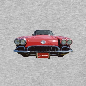 1958 Chevrolet Corvette - Baseball T-Shirt