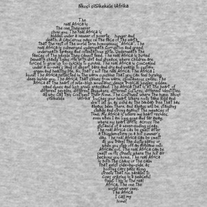 The Africa I Call Home - Baseball T-Shirt