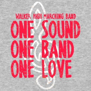 Walker High Marching Band One Sound One Band One L - Baseball T-Shirt