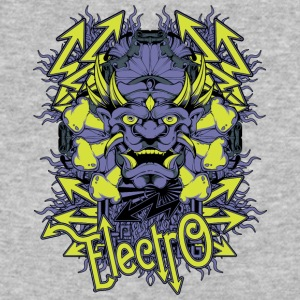 electro demon - Baseball T-Shirt