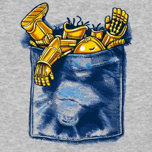 Droid Trouble - Baseball T-Shirt