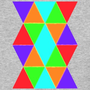 Colourful Pattern - Baseball T-Shirt