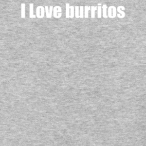 I Love burritos - Baseball T-Shirt