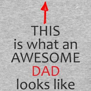 Fathers Day Gift - This is What an Awesome DAD - Baseball T-Shirt
