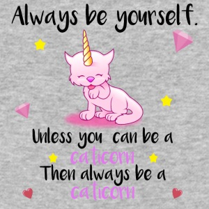 Always be yourself - caticorn - Baseball T-Shirt