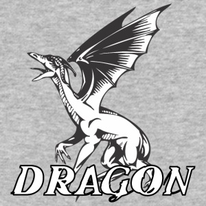 screaming_dragon_with_wings - Baseball T-Shirt