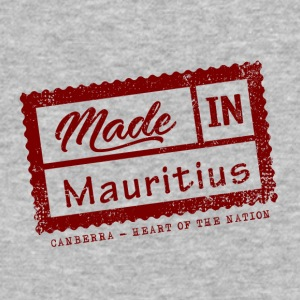Stamp Made in Mauritius - Canberra - Baseball T-Shirt