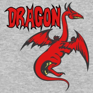 LONG_DRAGON_red - Baseball T-Shirt