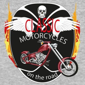 Motorcycle - Baseball T-Shirt