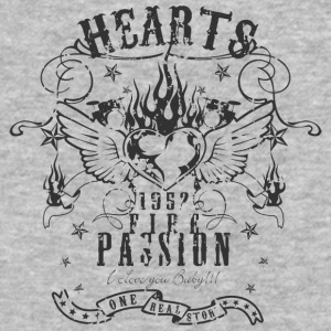 hearts passion - Baseball T-Shirt