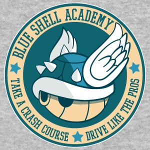 Blue Shell Academy - Baseball T-Shirt