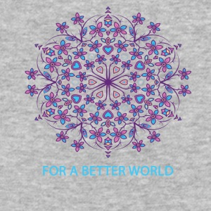 For a better world - Baseball T-Shirt