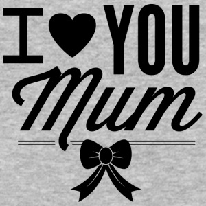 I_love_you_mom - Baseball T-Shirt