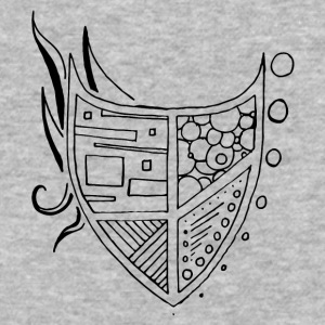 Illustrator coat of Arms - Baseball T-Shirt