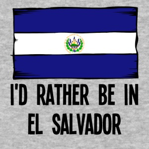 I'd Rather Be In El Salvador - Baseball T-Shirt