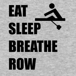 Eat Sleep Breathe Row - Baseball T-Shirt