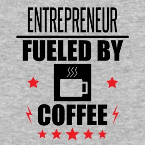 Entrepreneur Fueled By Coffee - Baseball T-Shirt