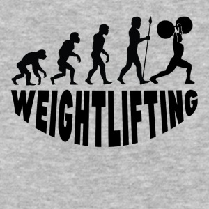 Weightlifting Evolution - Baseball T-Shirt