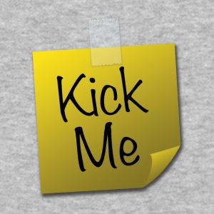 Kick Me Post-it - Baseball T-Shirt