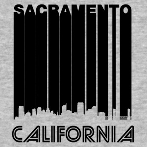 Retro Sacramento Skyline - Baseball T-Shirt