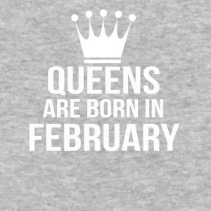queens are born in february - Baseball T-Shirt