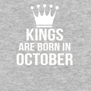 kings are born in october - Baseball T-Shirt