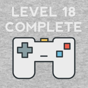 Level 18 Complete 18th Birthday - Baseball T-Shirt