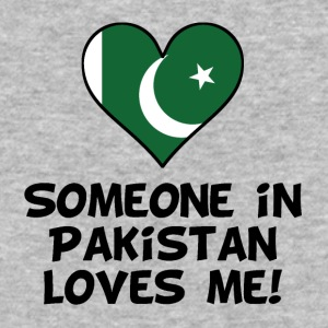 Someone In Pakistan Loves Me - Baseball T-Shirt