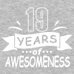 19 years of awesomeness - Baseball T-Shirt