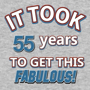 55th birthday designs - Baseball T-Shirt