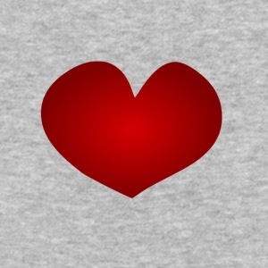 heart - Baseball T-Shirt