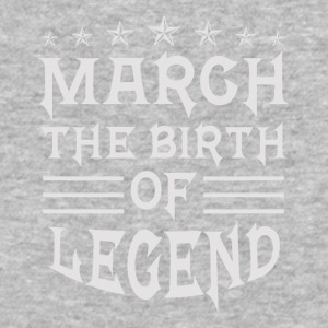 March The Birth of Legend - Baseball T-Shirt