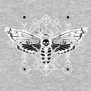 Butterfly Darkness - Baseball T-Shirt