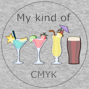 My kind of CMYK - Baseball T-Shirt